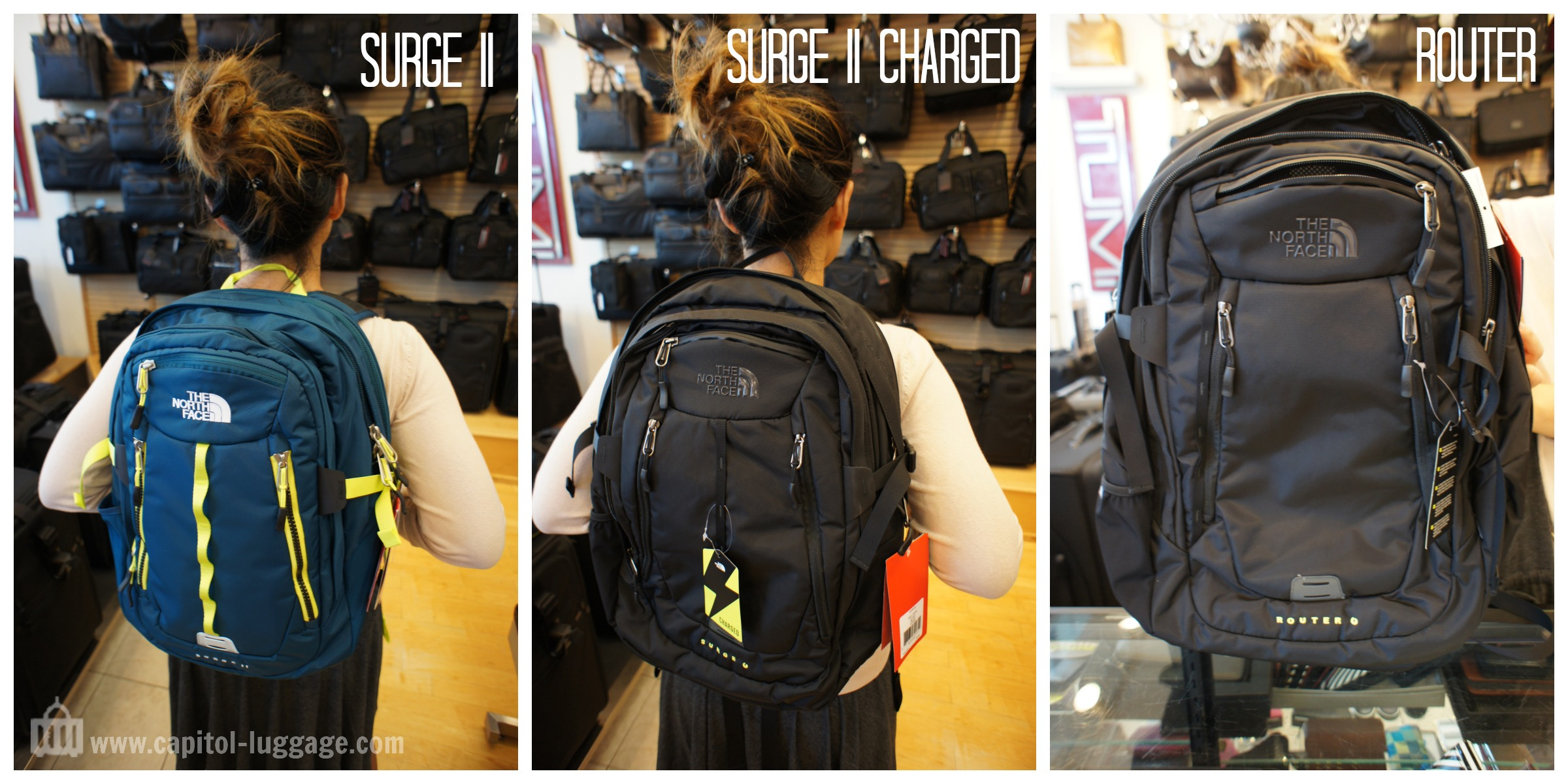6f00853b2 North Face Surge 2 Backpack Black - CEAGESP